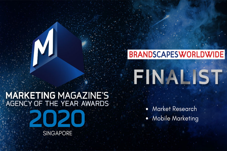 """GREAT NEWS! BRANDSCAPES WORLDWIDE – PROUD FINALIST AT THE AGENCY OF THE YEAR AWARD 2020, SINGAPORE"""