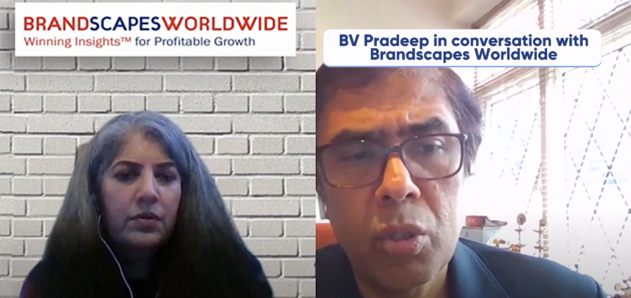 An insight into the journey of an insight industry leader: In conversation with BV Pradeep | Episode-2