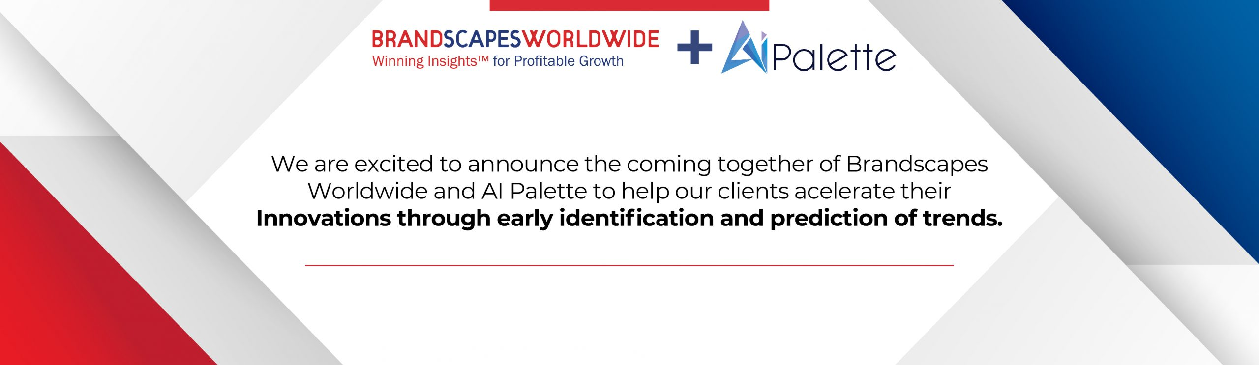 Brandscapes Announcement of Partnership with Ai Palette